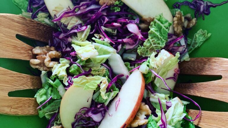 Cabbage-Apple-Walnut-Salad