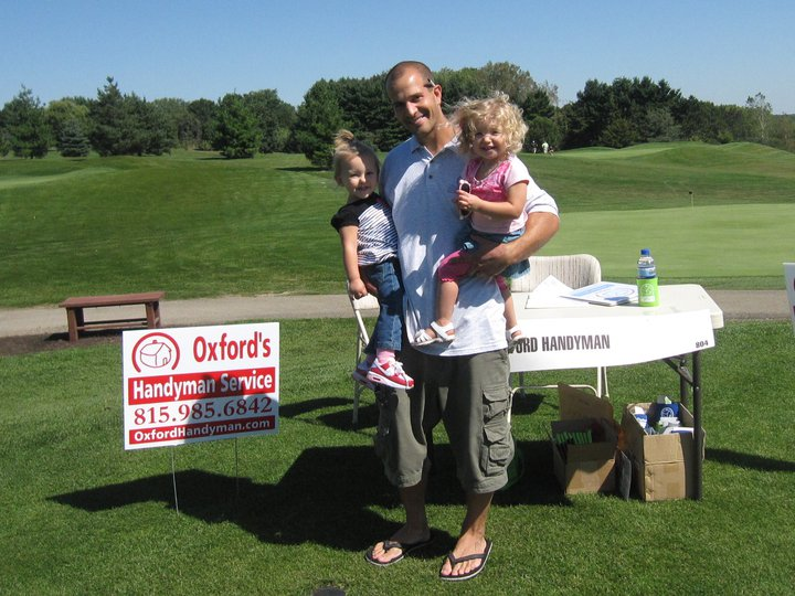 Nate From Oxford Remodeling & Handyman Service With His Family