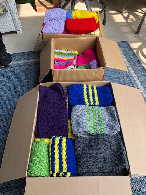 knitted winter wear