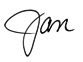 Jan Luther Signature