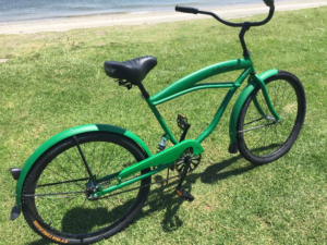Men's Beach Cruiser 26 Inch Semi-Stretched SoftCruise® Green