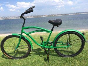 Men's Beach Cruiser Standard 26 Inch SoftCruise® Green