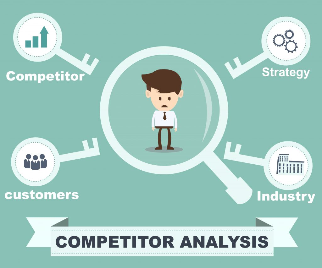 competitor analysis concept