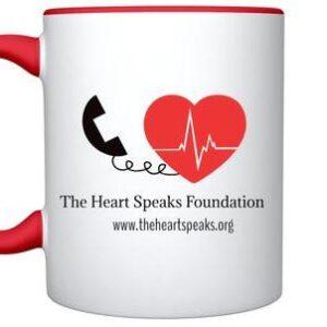 Red Handle Mug