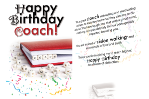 Happy Birthday Coach Card (5×7) [Musical]