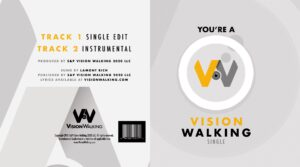 You're a Vision Walking sung by Lamont Rich [CD Single]