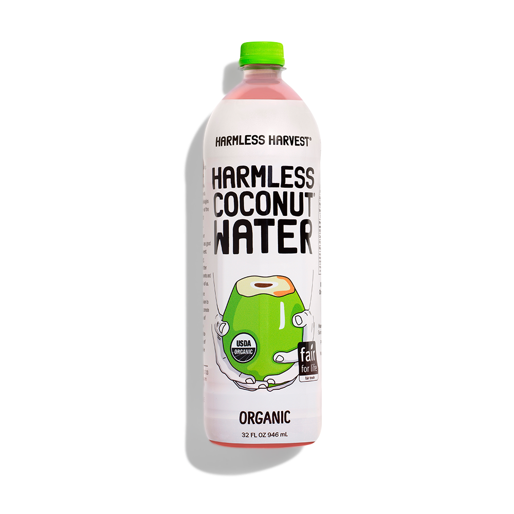 Harmless Harvest Coconut Water 32oz bottle