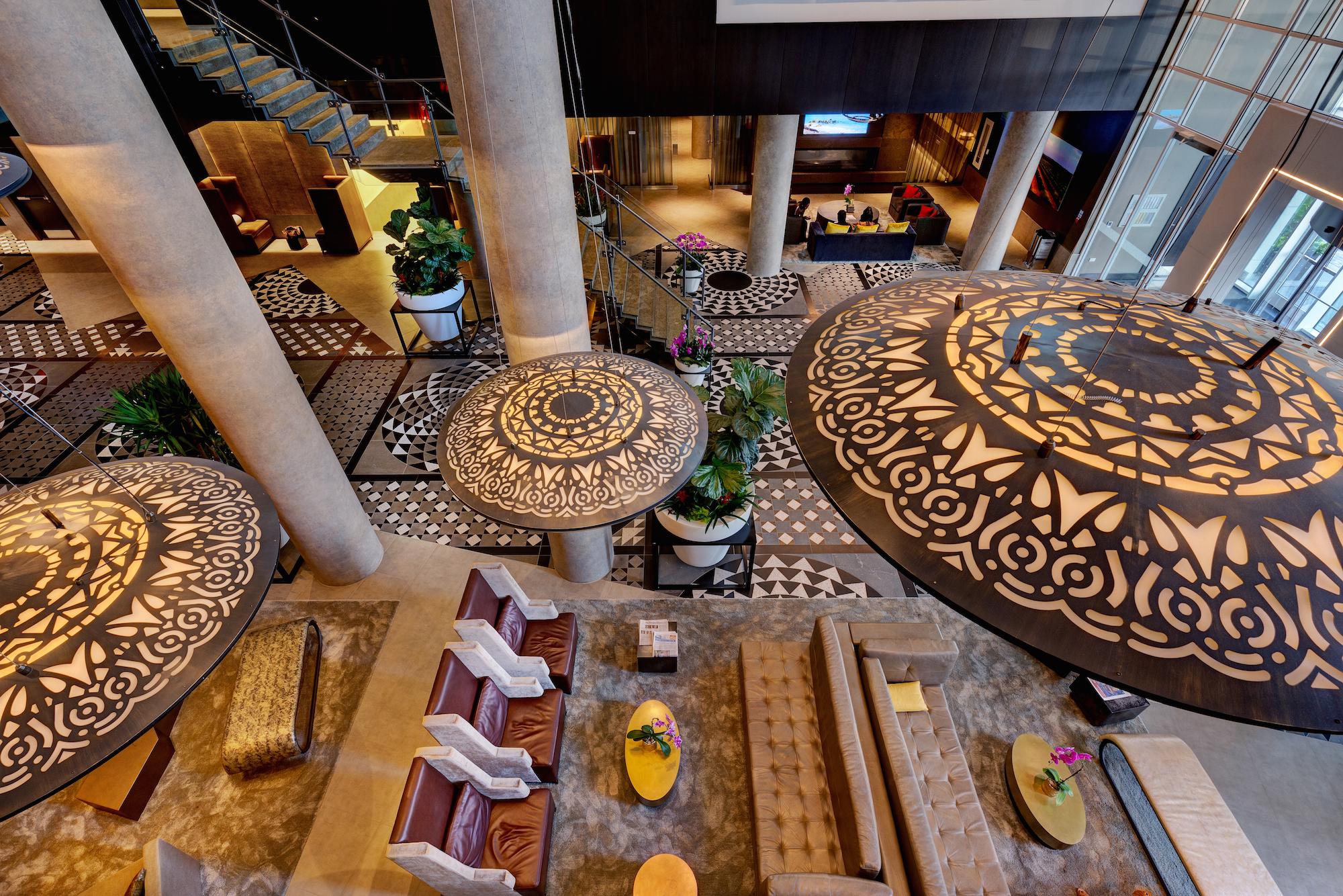 Lobby Hotel X Toronto