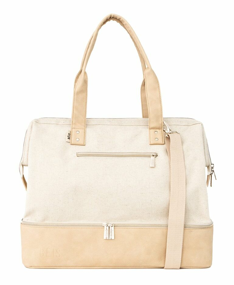 The Weekender in Beige by BÉIS, $98