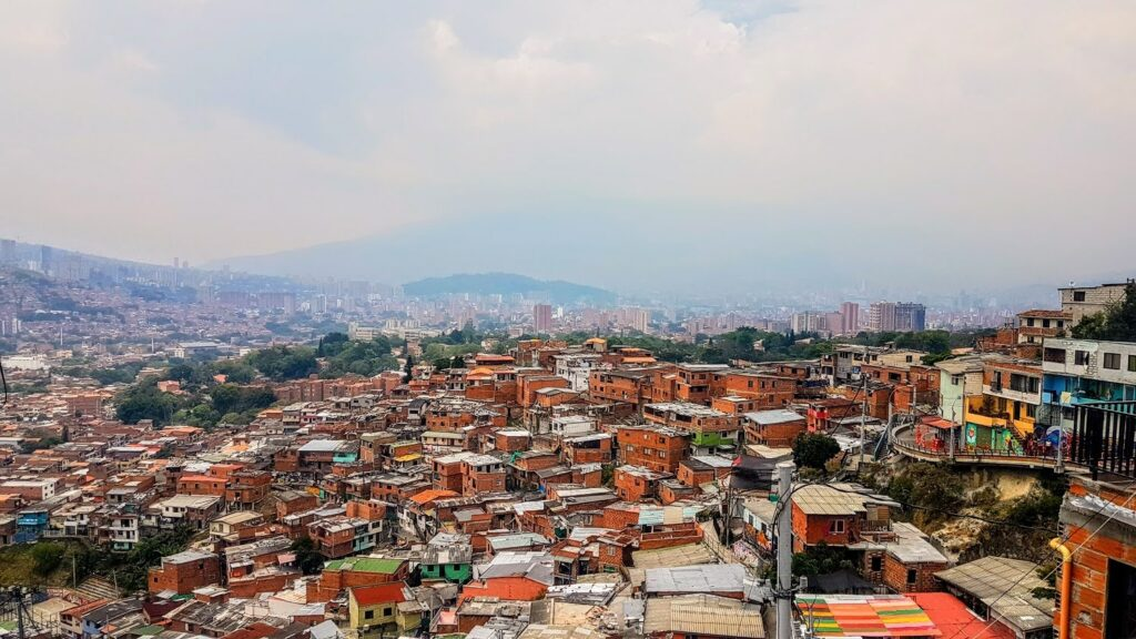 View from Comuna 13