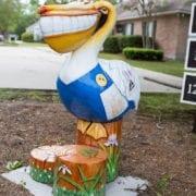 CCFD Pelican Mascot