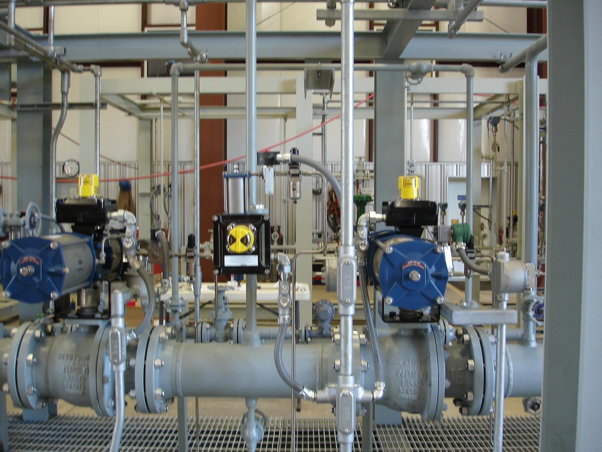 Burner Management System (BMS) for a 13 Burner Hot Oil Heater
