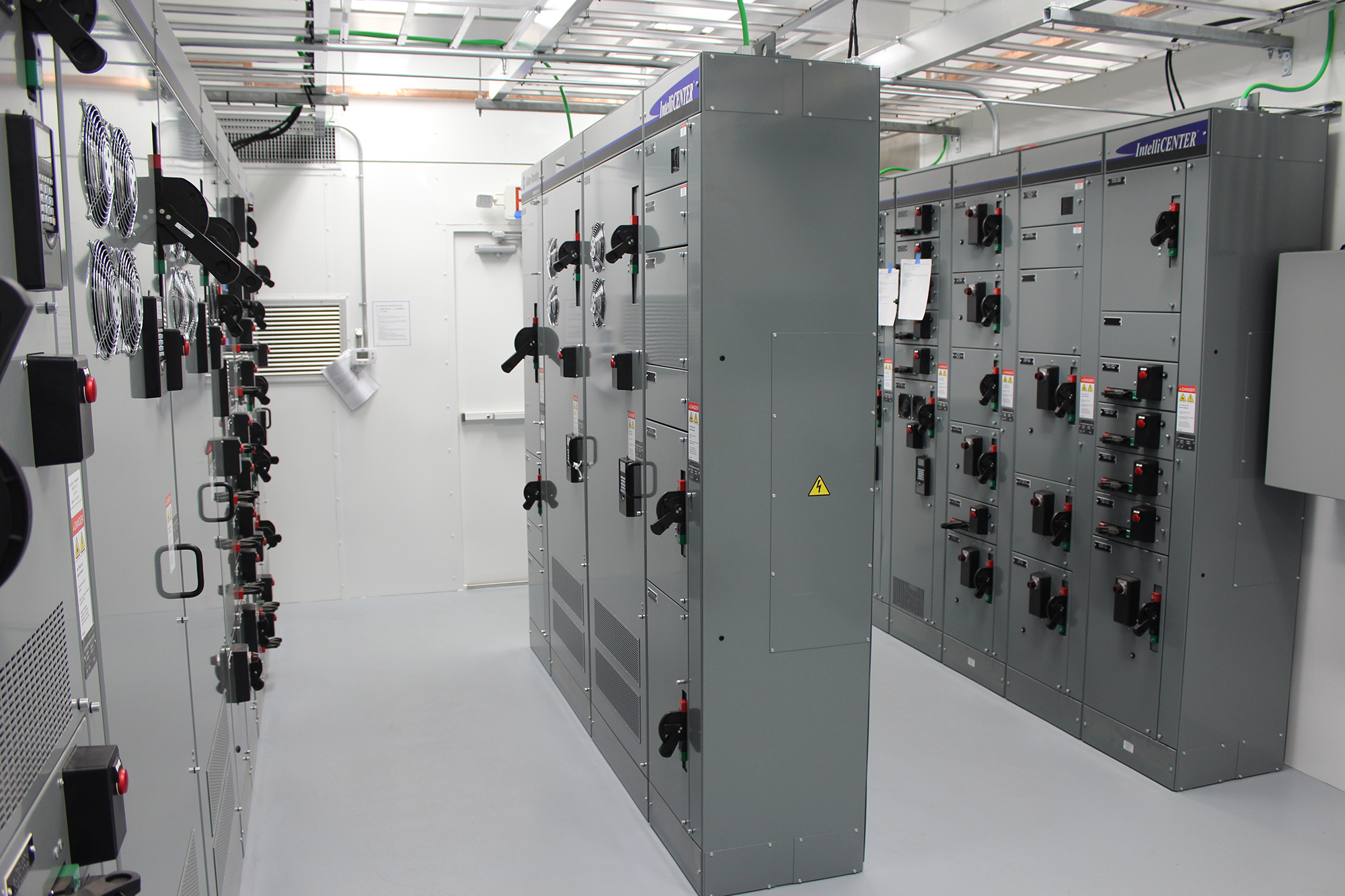 Electrical Building for a 60MMSCFD Gas Plant