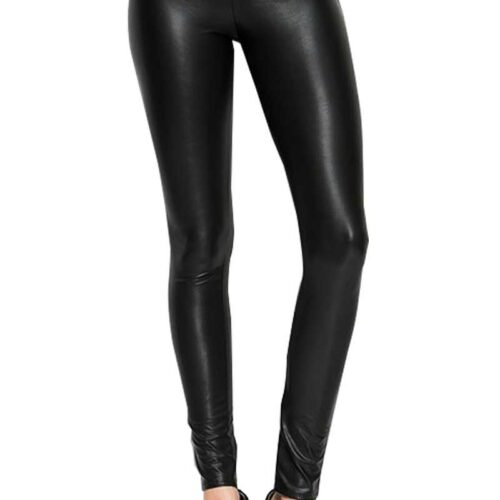 Soft And Stretchy Faux Leather Leggings