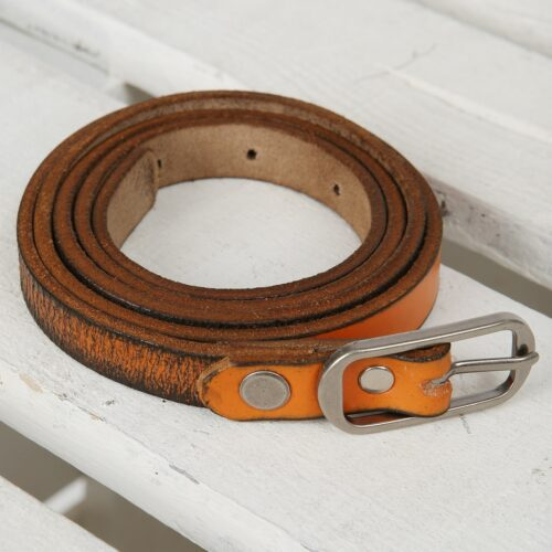Grunge Genuine Leather Belt