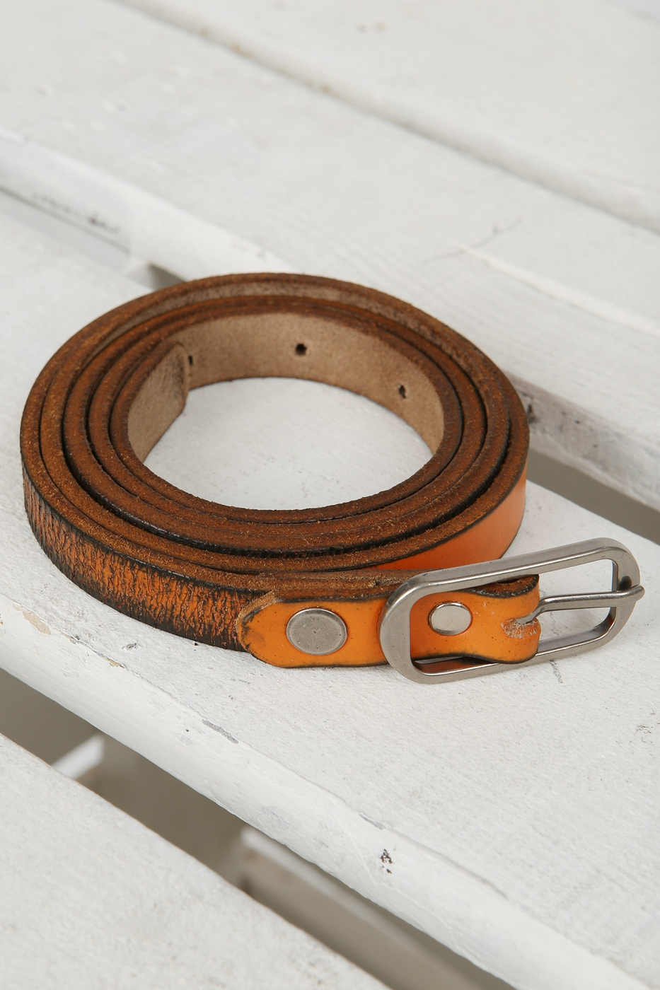 Grunge Genuine Leather Belt