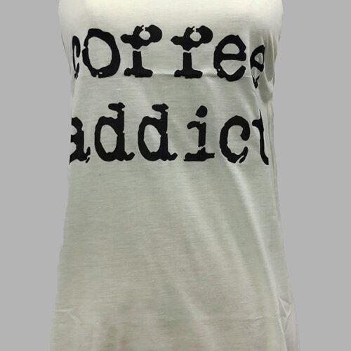 """Coffee Addict"" Tank Top"