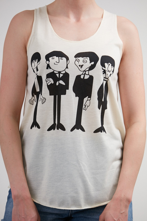 Animated Beatles Tank Top