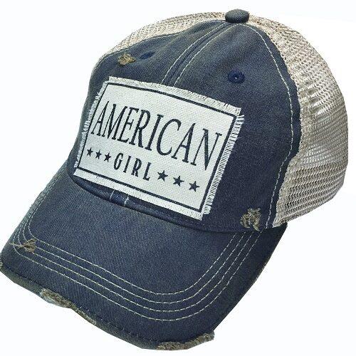 """AMERICAN GIRL"" Trucker Hat"