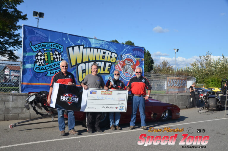 Korecki Wins Smoke, Fire, and Thunder at Mission Raceway