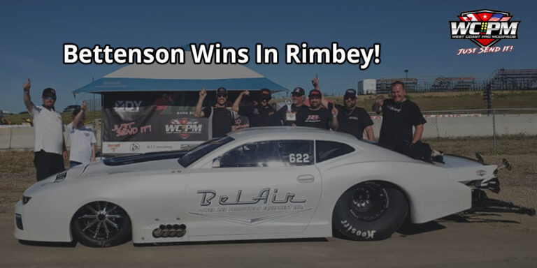 Bettenson Wins In Rimbey!