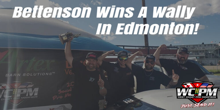 Bettenson Wins A Wally In Edmonton!
