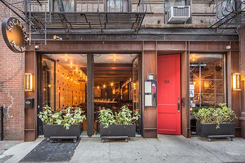 Socarrat Paella Bar NYC Nolita location
