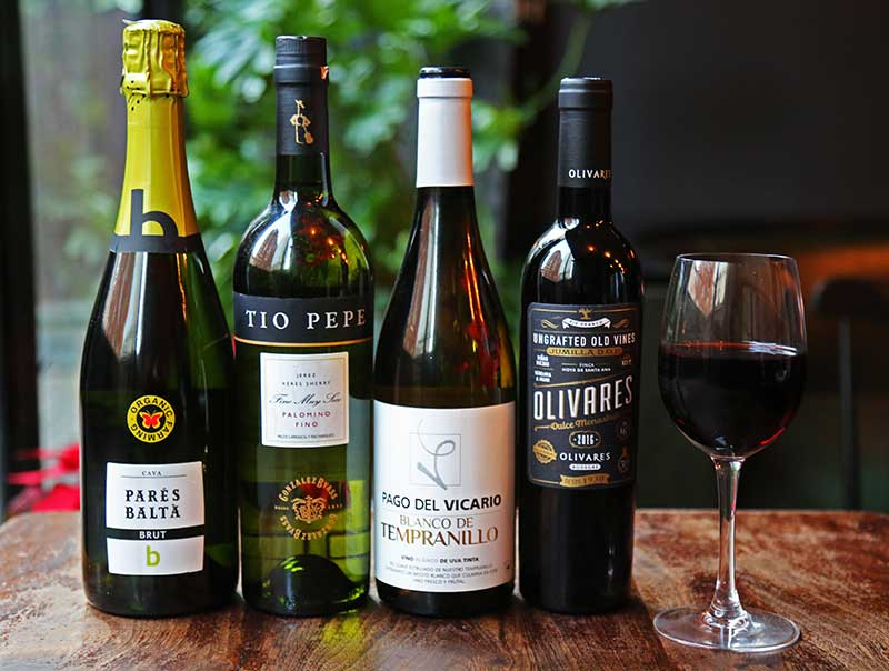 Spanish Wines at Socarrat Spanish Restaurant NYC