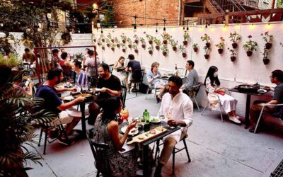 Dining al fresco: Spain's outdoor dining culture in NYC