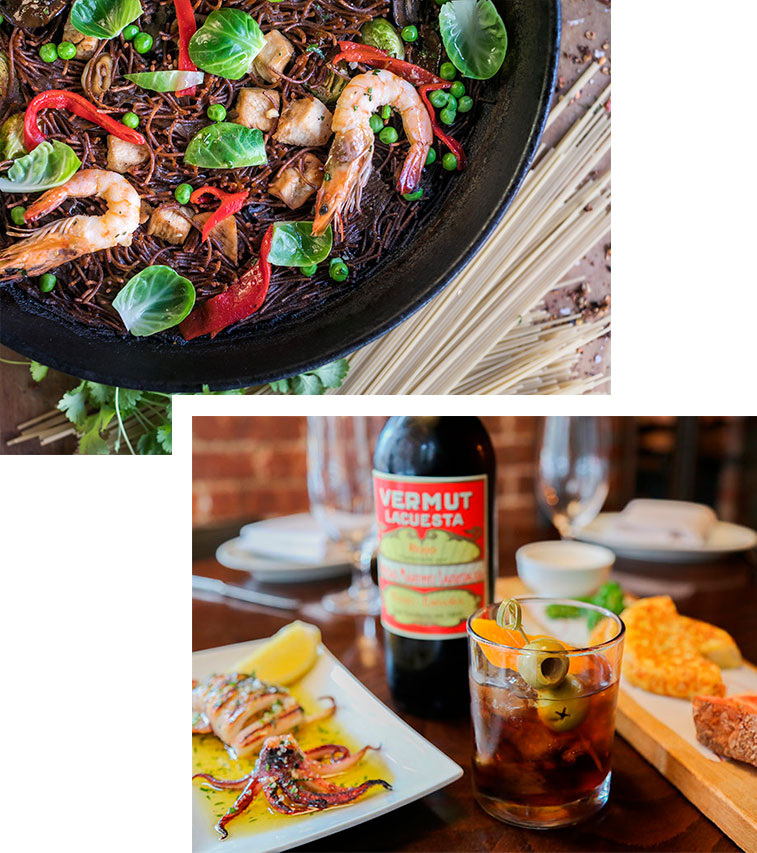Authentic Spanish food and beverage at Socarrat NYC
