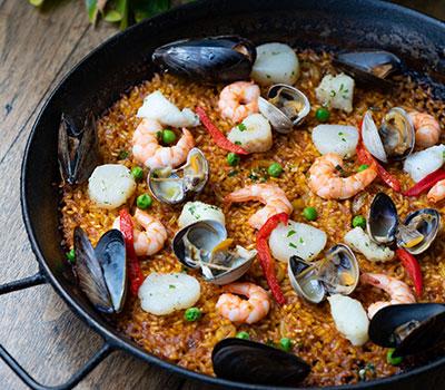 Best paellas at Socarrat Spanish Restaurant NYC