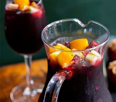 Enjoy authentic sangria at Socarrat Spanish Restaurant NYC