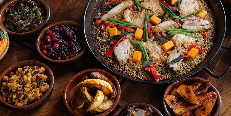 Celebrate Thanksgiving at Socarrat Paella Bar NYC