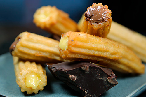 Order the best stuffed churros in NYC with Socarrat