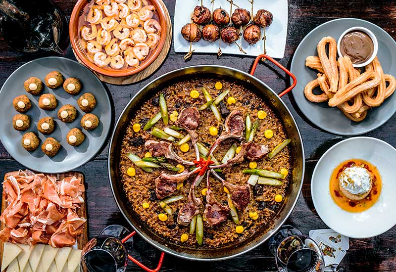 Enjoy a Spanish dinner feast for two from Socarrat NYC