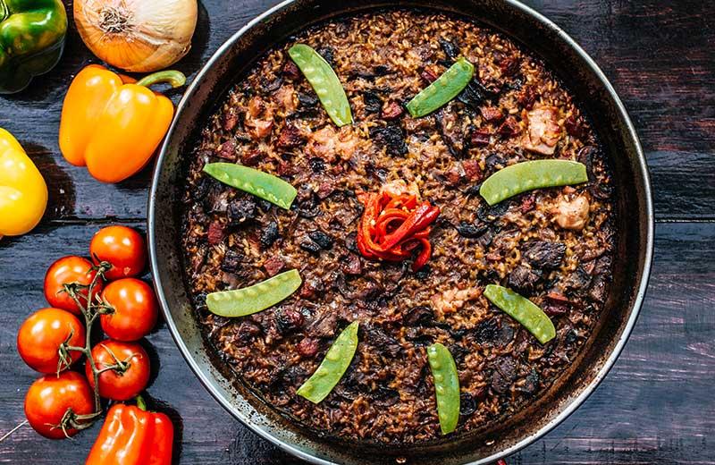 Thanksgiving Turkey Paella recipe, Socarrat NYC