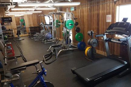 arc gym weights treadmill