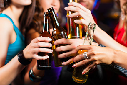 binge drinking not alcoholism