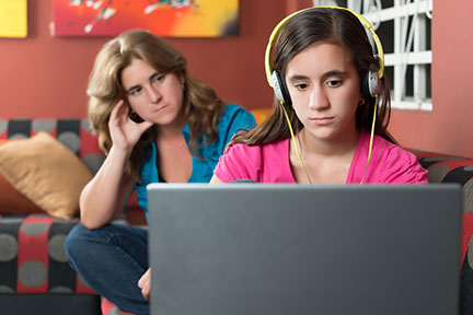 parents monitor technology