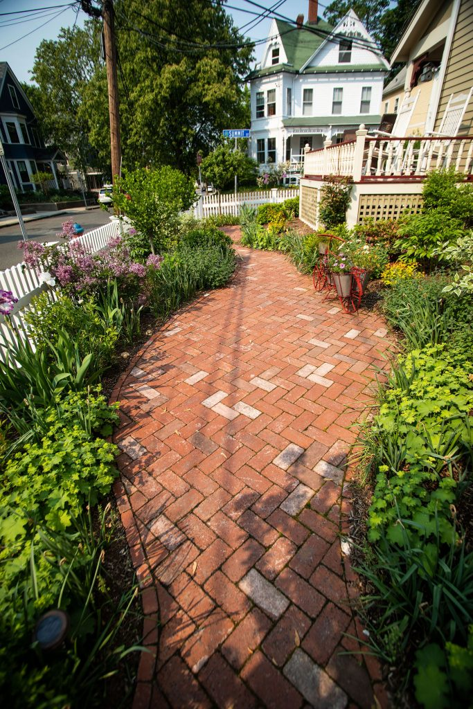 Antique Brick Road