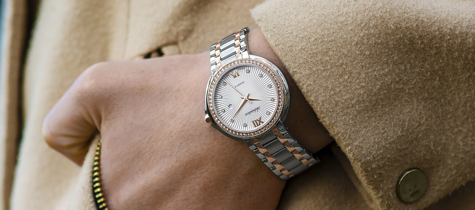 business woman watch