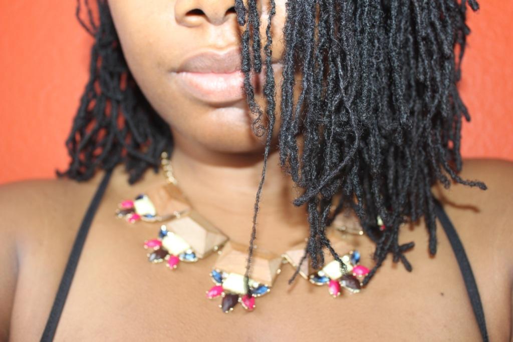 woman dreads