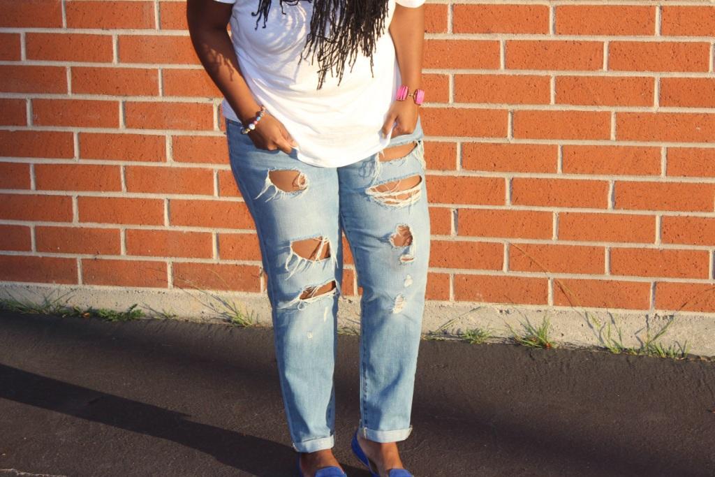 woman in jeans