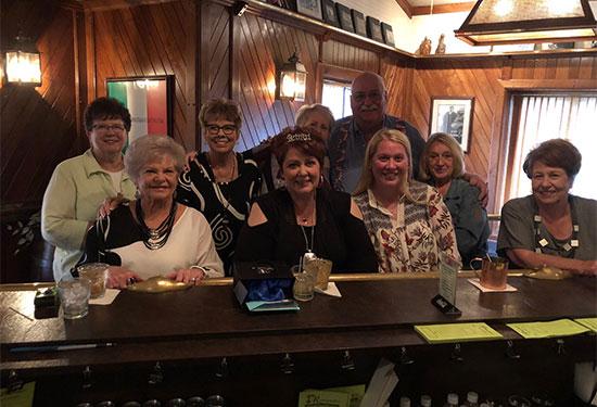 Group at the Bar at Romagnoli's