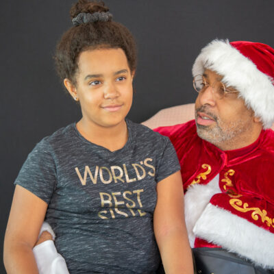 Santa of Color Holiday Sessions