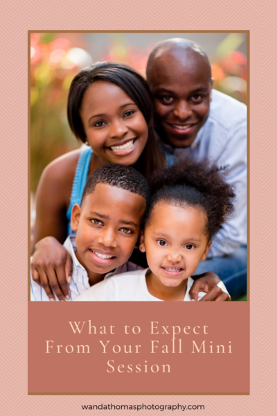 What to Expect From Your Fall Mini Session