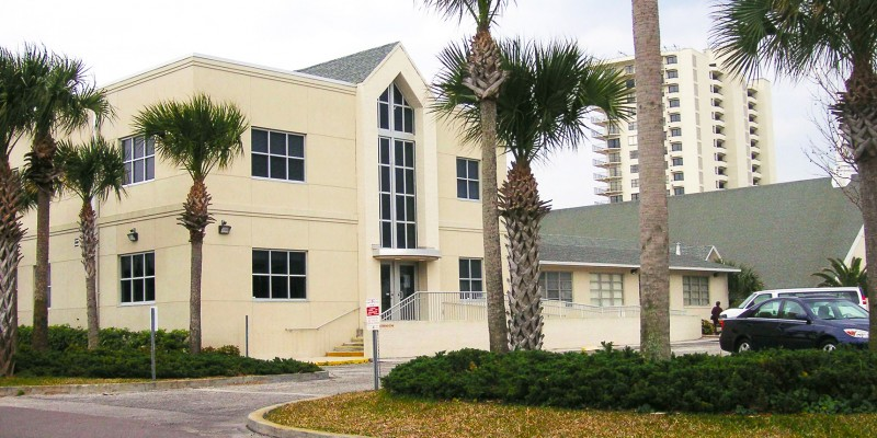 2 story addition to Neptune Beach Church