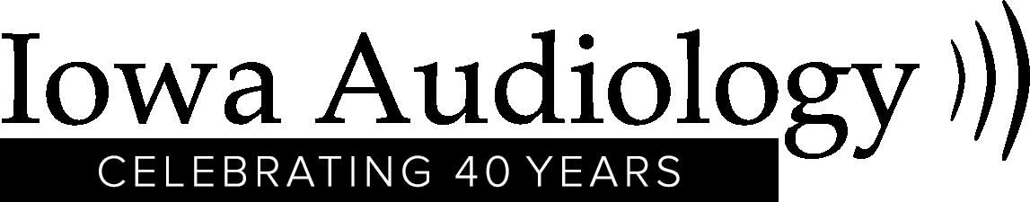 IowaAudiology_40yrAnniv_logo_2021_BLK