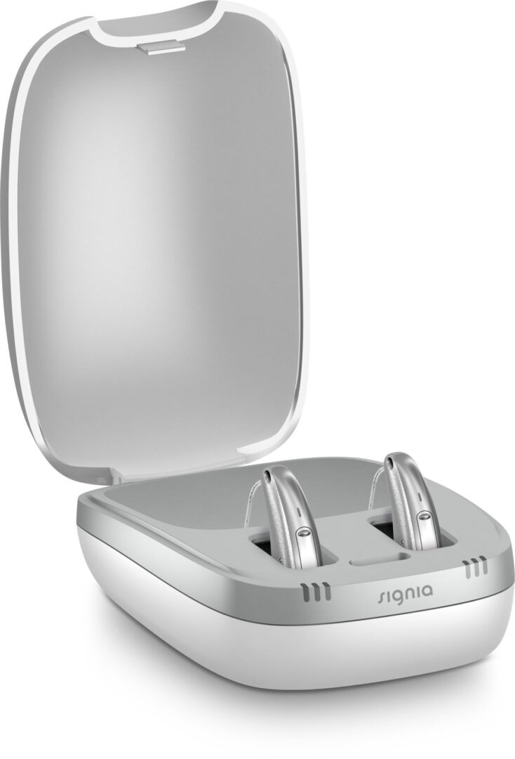 Signia Pure Charge & Go Pair in Charger