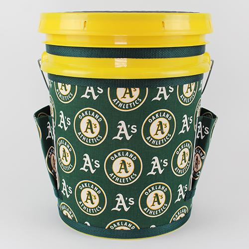 Oakland A's- Yellow Bucket